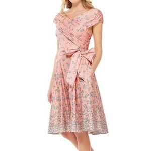 Gal Meets Glam Lillian Floral Dress NWOT B2